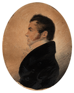 Portrait of John Lapraik held by Dick Insititute Museum